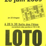 loto Mery/oise 20 juin