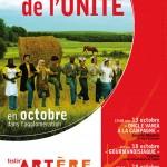 THEATRE DE L'UNITE  festiv'ARTERE PUBLIQUE