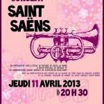 Concert Saint-Saëns à Saint Brice