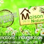 Inauguration de la Maison de la Nature