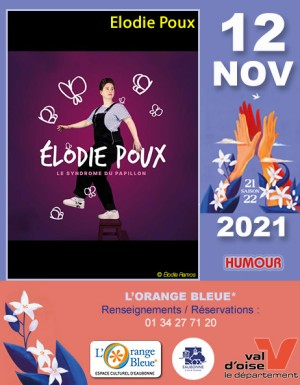 HUMOUR & STAND-UP : Elodie Poux