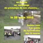 Nettoyage des Chemins