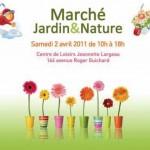 Marché Jardin et nature