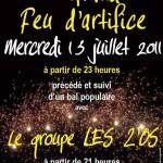 Bal Populaire et Feu d'artifice à Montmagny