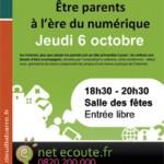 Deuil – Conférence et débat : » être parents à l'ère du numérique»
