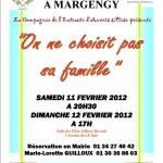 Théâtre à Margency : on ne choisit pas sa famille