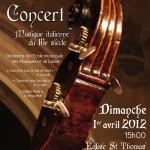 Musique italienne du 18e siècle