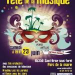Fête de la Musique à Saint-Brice-Sous-Forêt 2012