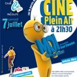 Cinéma en plein air à Eaubonne 2012