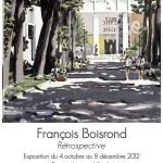 FRANCOIS BOISROND RETROSPECTIVE