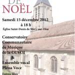 Concert de Noël à Méry-sur-Oise