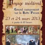Voyage Mediéval, Grand campement sur la butte Pinson