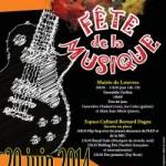 Fête de la Musique 2014 à Louvres