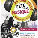 Fête de la Musique 2014 à Meulan