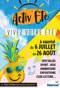 Affiche Activ'été