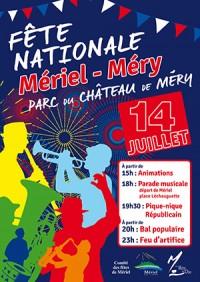 Fête nationale Mériel-Méry