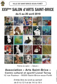 EXPOSITION : 25e salon Arts Saint-Brice