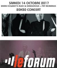 Concert : BRIAN DOWNEY'S ALIVE & DANGEROUS + PAT MCMANUS