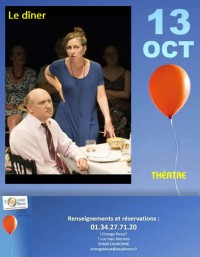 Théâtre : Le Dîner