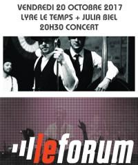 Concert : LYRE LE TEMPS + JULIA BIEL
