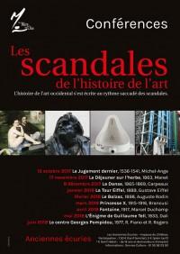 """""""Les scandales de l'histoire de l'art"""" à Méry-sur-Oise"""