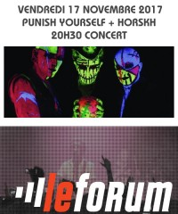 Concert : PUNISH YOURSELF + HORSKH