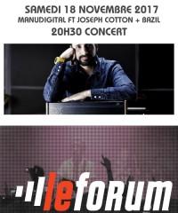 Concert : MANUDIGITAL FT JOSEPH COTTON + BAZIL