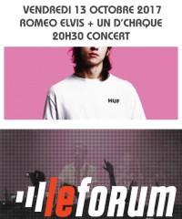 Concert : ROMEO ELVIS + UN D'CHAQUE