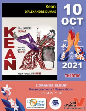 THÉÂTRE : Kean D'ALEXANDRE DUMAS