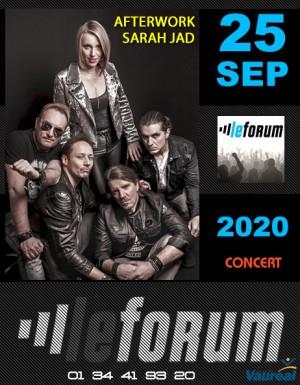 Concert: AFTERWORK SARAH JAD