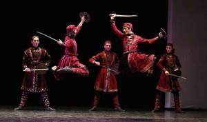 DANSE : Ballet royal national de Géorgie (Le feu de Géorgie)