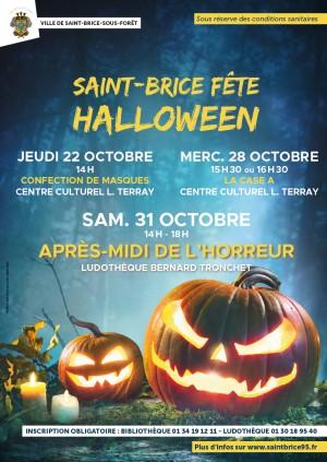 Saint Brice fête HALLOWEEN