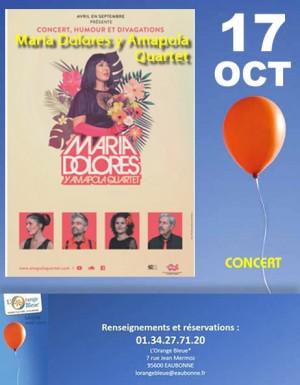 Maria Dolores y Amapola Quartet / Concert délirant