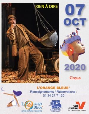Cirque : RIEN À DIRE